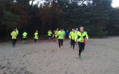Zaterdag 29 oktober training in Joe Mannbossen Son.