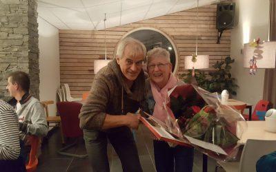 40 jaar lidmaatschap Annie van den Berg
