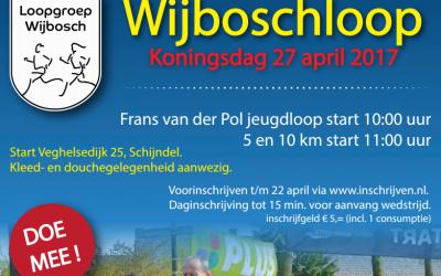 Wijboschloop donderdag 27 april Koningsdag