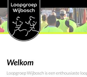 Flyer Loopgroep Wijbosch