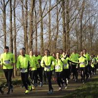 Loopgroep Wijbosch loopt gezamenlijk 2016 uit.