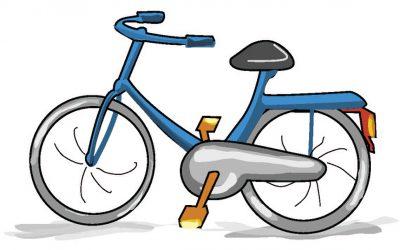 Gezamenlijk op de fiets naar de Silvesterloop
