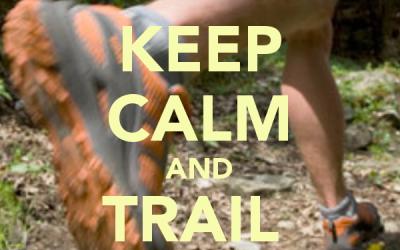 Trailrun trainingen op zondag.